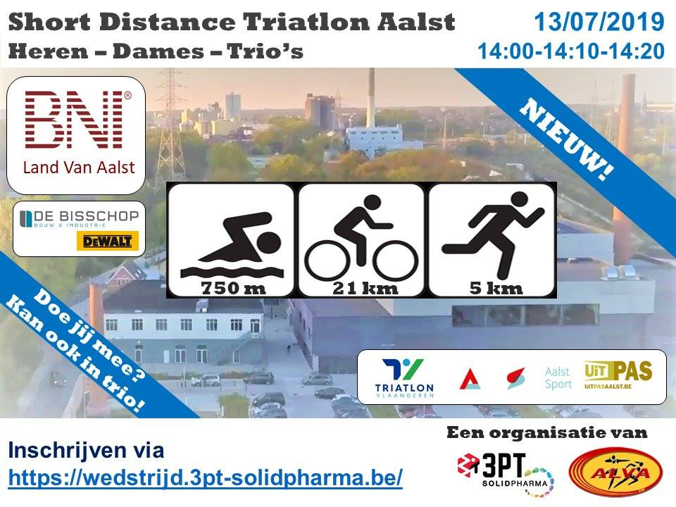 Short Distance Triatlon Aalst
