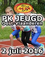 PK Jeugd Oost-Vlaanderen - 2 juli 2016