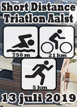 Short Distance Triatlon Aalst - 13 juli 2019