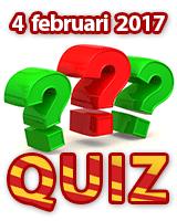 4de ALVA Quiz op zaterdag 4 februari 2017