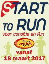 Start-to-Run vanaf 18 maart 2017