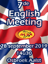 ALVA English Meeting - 28 september 2019