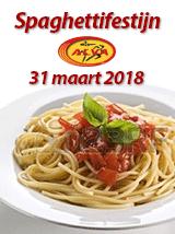 ALVA Spaghettifestijn op 31 maart 2018
