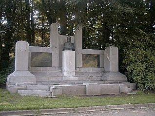 Foto: Monument stadspark Aalst